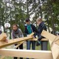 csapatépítés, outdoor, élmény és kalandprogramok, kihívás, teamsuccess.hu, hídépítés