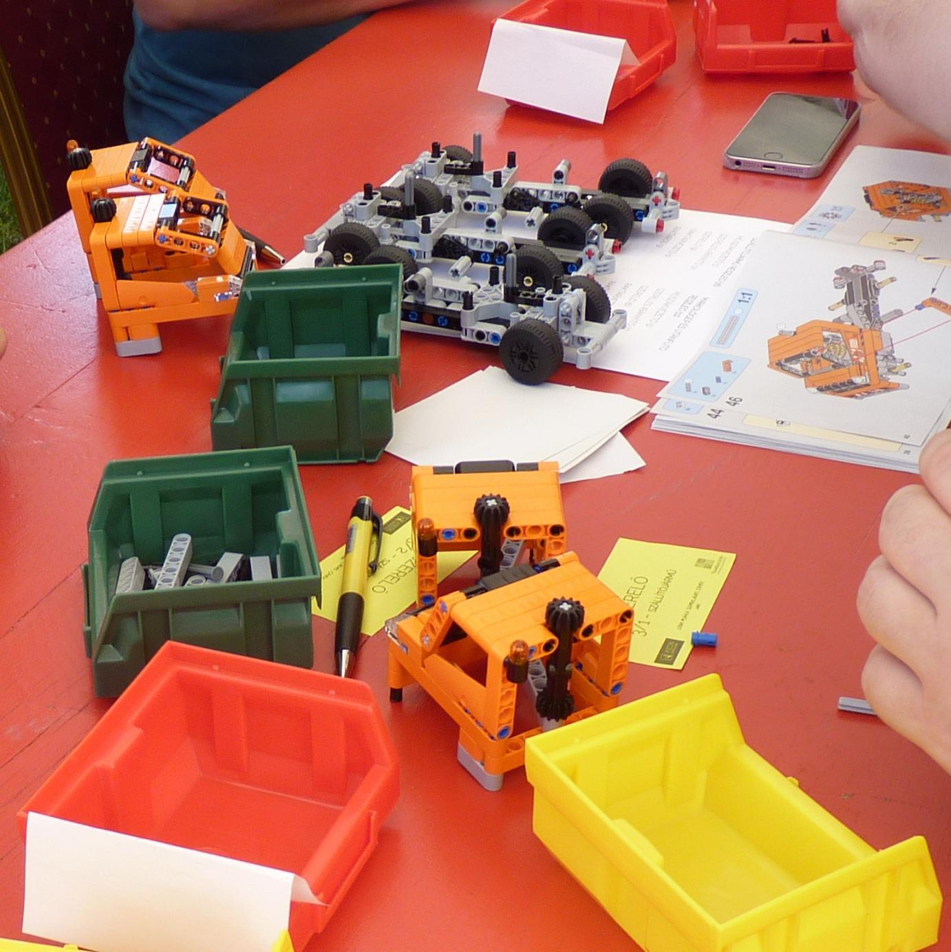 TeamSuccess - Outdoor Csapatépítés - Blogbejegyzések - LEGO-Mánia - Együttműködés felsőfokon!