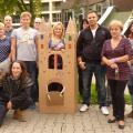 csapatépítés, outdoor, élmény és kalandprogramok, kihívás, teamsuccess.hu, papirvár építés